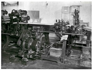 WJ Cryer Printers 1941 3 Colour Print & Die Cutting machine 02