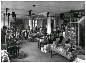 WJ Cryer Printers Marriott St Redfern 1935 Rotary Finishing & Packing Depts